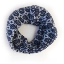 Celyn Wrap ~ Navy/Grey