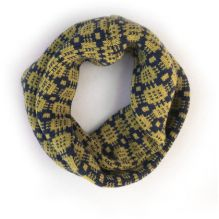Celyn Wrap ~ Ochre/Navy