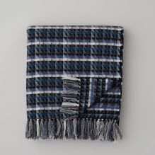 Cardigan Throw ~ Blue