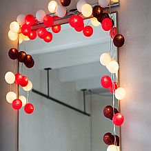 Handmade String Lighting ~ Cherry Pop