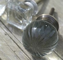 Glass Door Knob ~ Ball