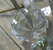 Glass Door Knob ~ Star