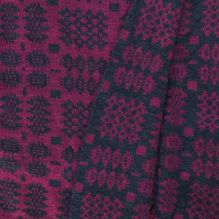 Tapestry Blanket ~ Damson/Coal