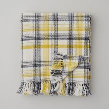 Pembroke Throw ~ White
