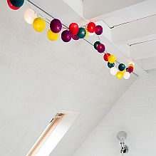 Handmade String Lighting ~ Rainbow Drops