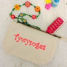 'Tywysoges' Make Up Bag