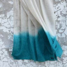 Teal/Cream Scarf