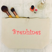 'Brenhines' Make Up Bag