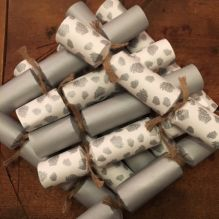 Welsh Christmas Eco Crackers ~ Fir Cone