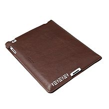 Leather iPad Cover ~ Brown