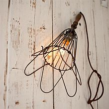 Cage Wall Light