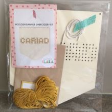Wooden Cariad Banner Kit