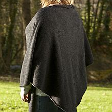 Charcoal Cashmere Wrap