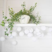 Handmade String Lighting ~ Pure White