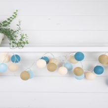 Handmade String Lighting ~ Sandy Beach