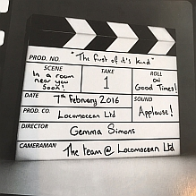 Light Box ~ Clapperboard