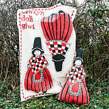 Welsh Doll Tea Towel