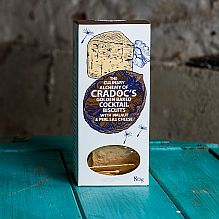 Cradoc's Cocktail Crackers ~ Walnut & Perl Las Cheese