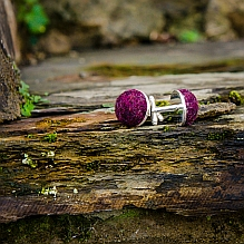 Wool Cufflinks ~ various colours available