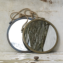 Hanging Metal Mirror