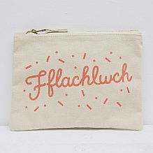 Fflachlwch Make Up Bag