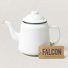 Falconware Teapot ~ White