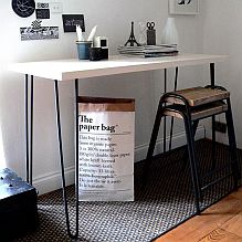 Hairpin Leg Console Table
