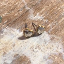 Hultquist Heart Studs