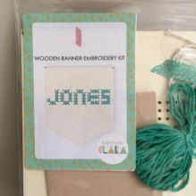 Wooden Jones Banner Kit