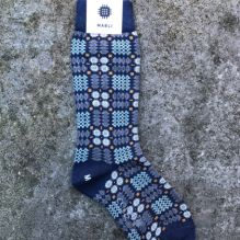 Carthen Socks ~ Blue (Ladies)