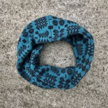 Cross Wrap ~ Teal/Anthracite