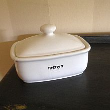 Menyn Butter Dish