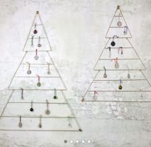 Antique Brass Christmas Tree