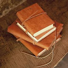 Rustic Leather Journal - A5