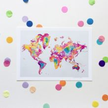 Map of the World ~ Small