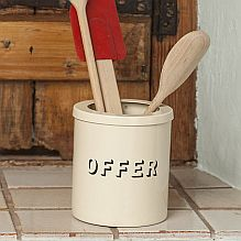 Offer Utensil Holder