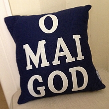 O Mai God Cushion