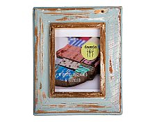 Rustic Picture Frame A4 ~ Duck Egg