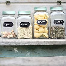 Chalk Board Storage Jar