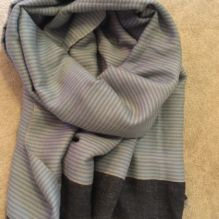 Stripey Wool Scarf