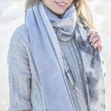 Blue/Grey Faded Scarf