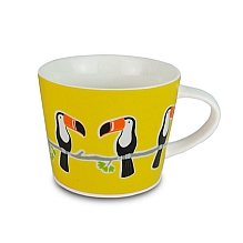 Toucan Mug ~ yellow