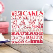 Welsh Food Card