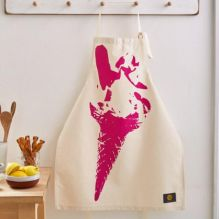 Pink Ice Cream Apron