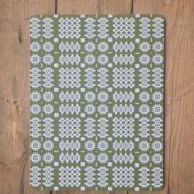 Welsh Blanket Placemats ~ Olive Green