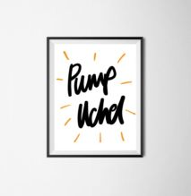 High Fives - Pump Uchel Poster