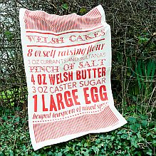 Welshcake Tea Towel
