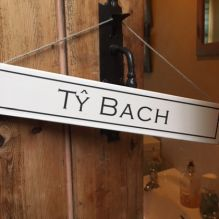 Ty Bach Sign