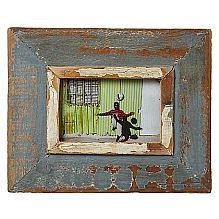 Rustic Picture Frame A5 ~ Grey